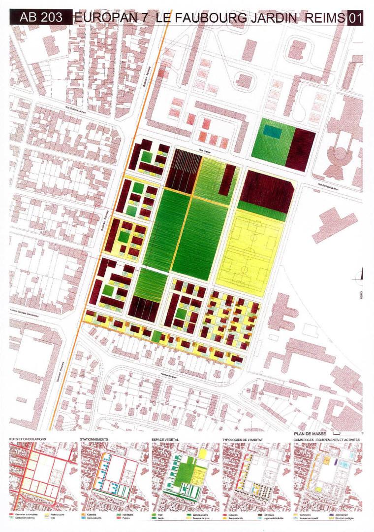 欧洲城市规划作品集排版,展板(共799张)