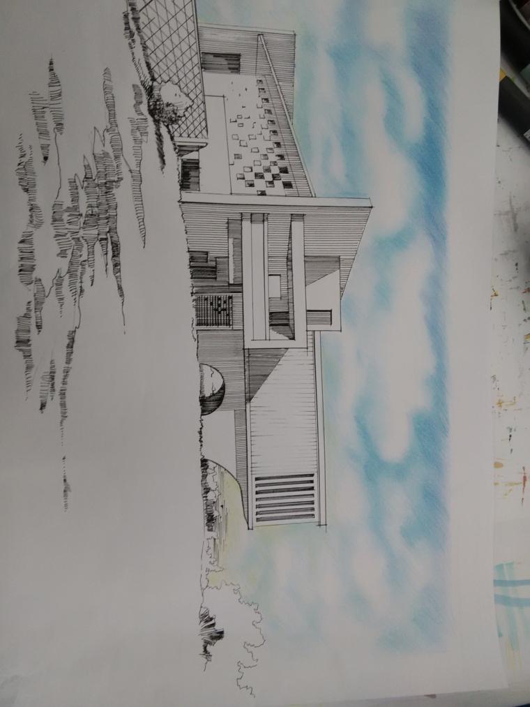 延安市西北川公园设计,红飘带广场_8