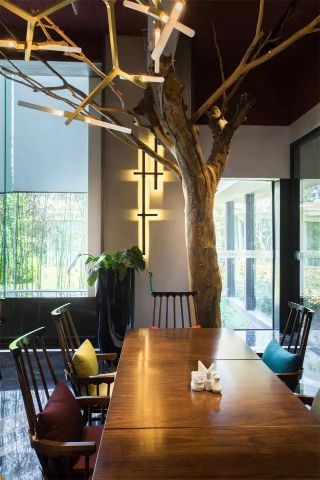 北京极富艺术感的树餐厅_10