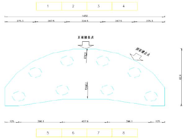 运河特大桥防撞墩及助航设施施工图设计计算书