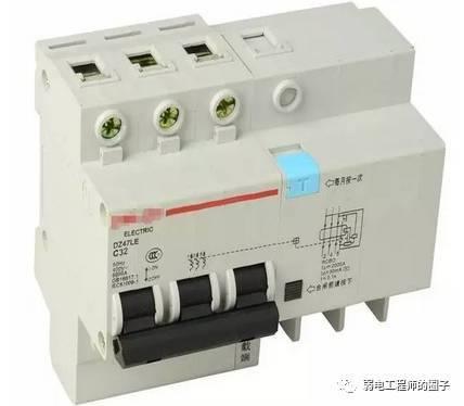 空气开关和漏电保护器有什么区别?能不能混用_2