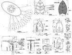 园林景观小品雕塑标志CAD施工图61张