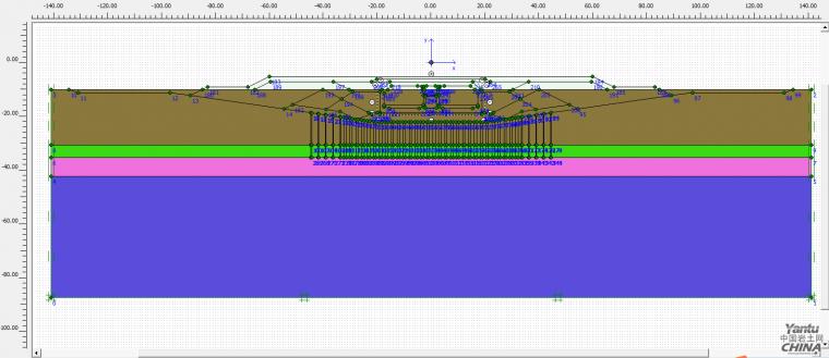 Plaxis2d沉管隧道沉降分析的步骤及注意事项