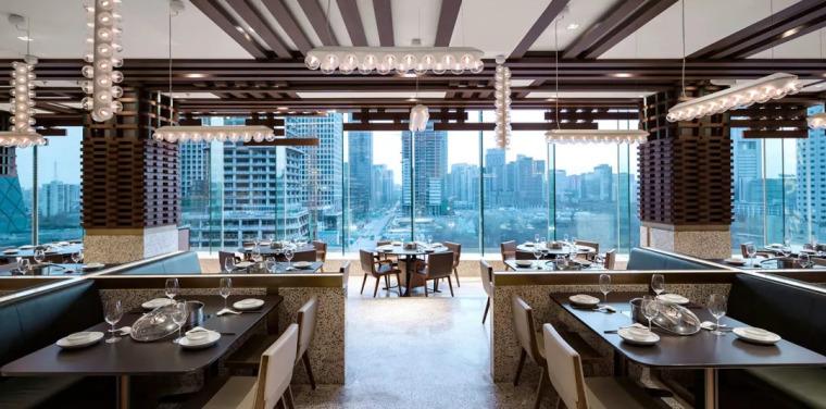 用最原始的搭建手法设计风靡版火锅餐厅