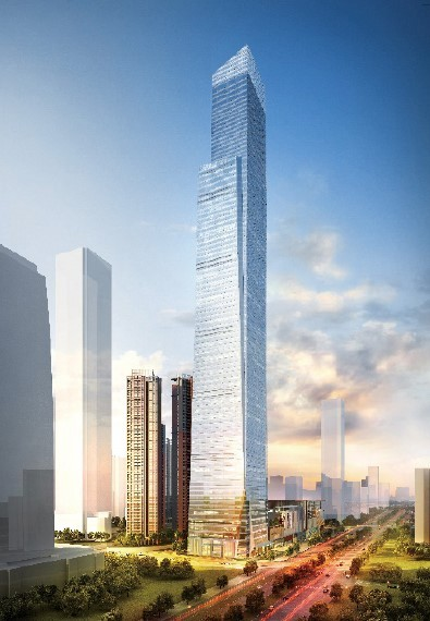云中信步 挑战苍穹 BIM在广西第一高楼中—华润东项目中的应用