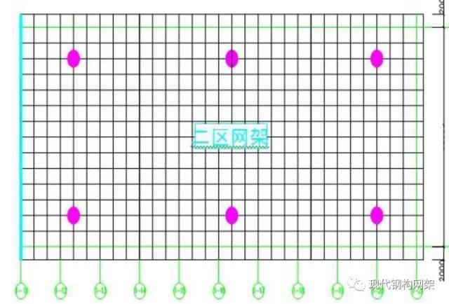 大跨度煤棚焊接球网架液压顶升施工技术_4