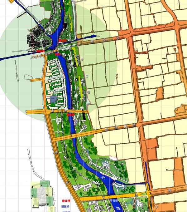 [江苏]苏州环古城风貌保护工程规划设计方案文本-东南大学