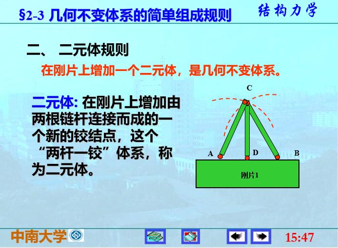 结构力学李廉锟版-平面体系的机动分析_7