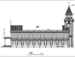基督教堂建筑施工图
