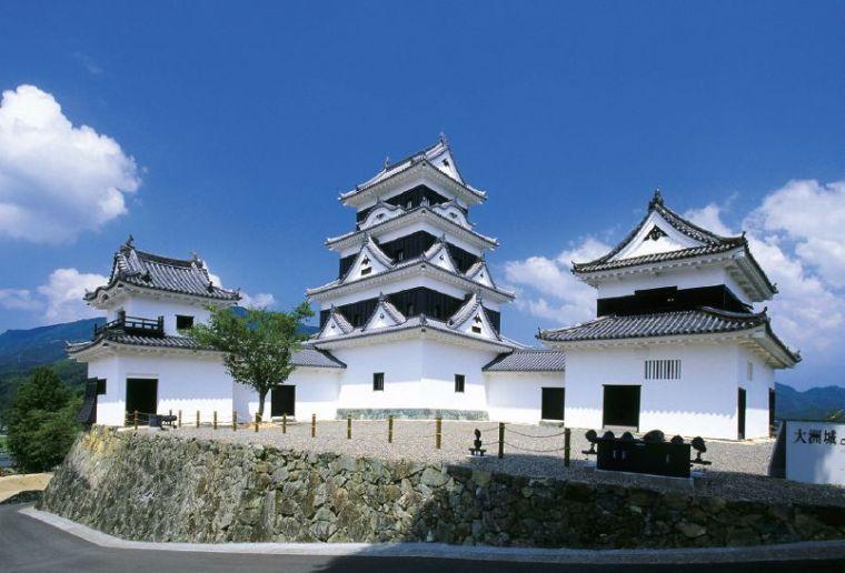 木结构建筑复原记:日本大洲城天守阁修缮_3