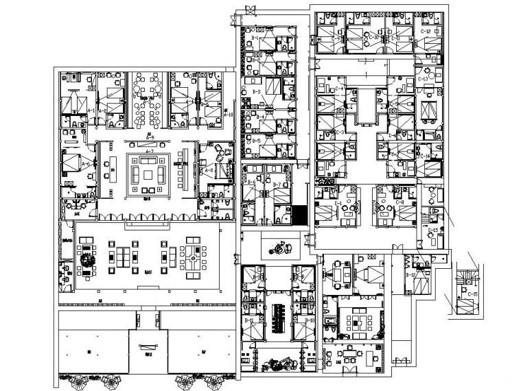 [云南]新中式特色民宿全套施工图设计(附效果图)