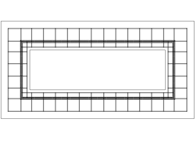 [新中式]现代中式廊架施工图详图