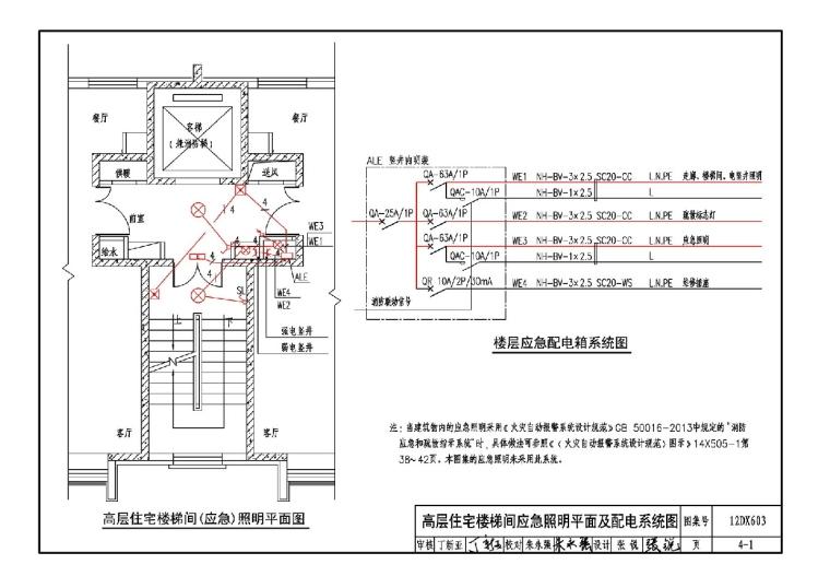 12DX603 《住宅小区建筑电气设计与施工》这两页是不是有点问题?