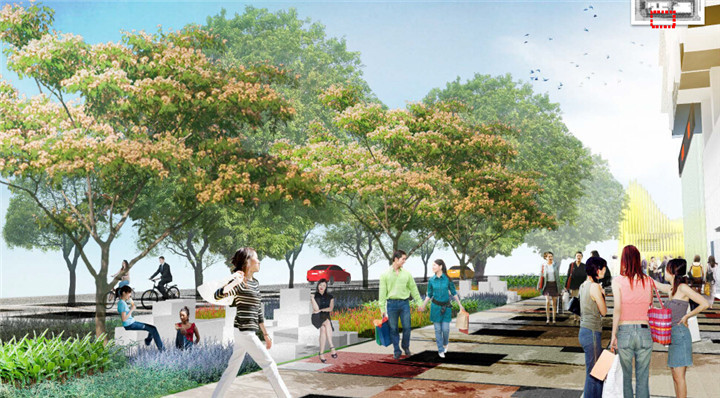 """[广东]""""绿色生态""""软件科技园景观规划方案(半英文)"""