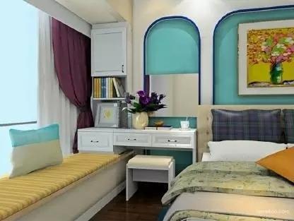 卧室惊艳地变了样还多了小资地儿,阳台飘窗改造术_6