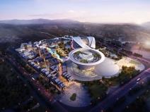 景德镇绿地·昌南里陶瓷文化旅游城建筑模型(2018年资料)