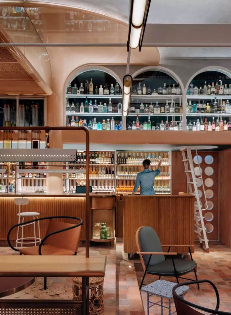这是什么神仙餐厅设计,也太美了吧