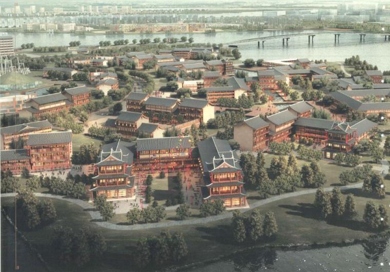 [湖北]某新区总体规划及核心区城市设计(PSD+189页)