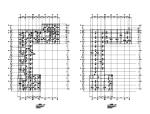 三层框架结构商店结构施工图(CAD、20张)