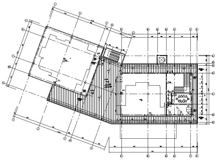 [江苏]售楼处给排水建筑结构强弱电施工图