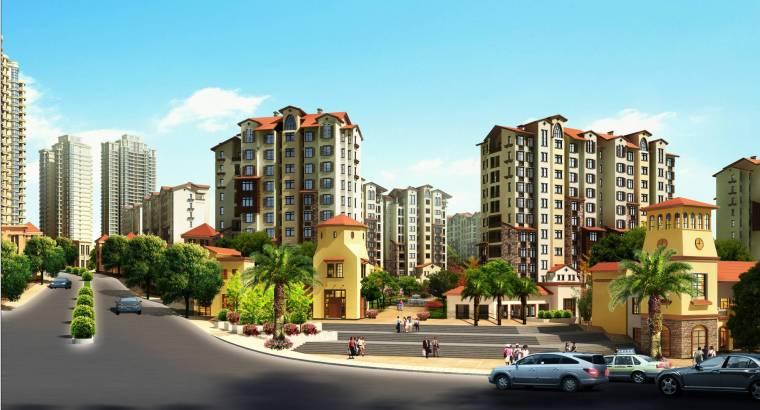 成都高层住宅小区项目电气全套图