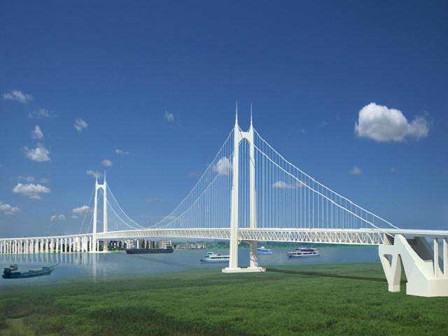 地连墙锚碇群桩基础主桥1480+453.6m双塔双跨钢桁梁悬索桥施工关键技术136页PPT