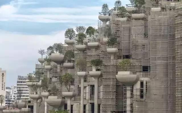"""震惊!上海惊现""""古巴比伦空中花园""""!建成后又是一个地标!"""