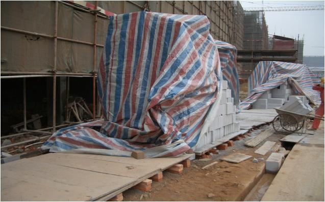 加气混凝土砌块现场施工做法与要求!