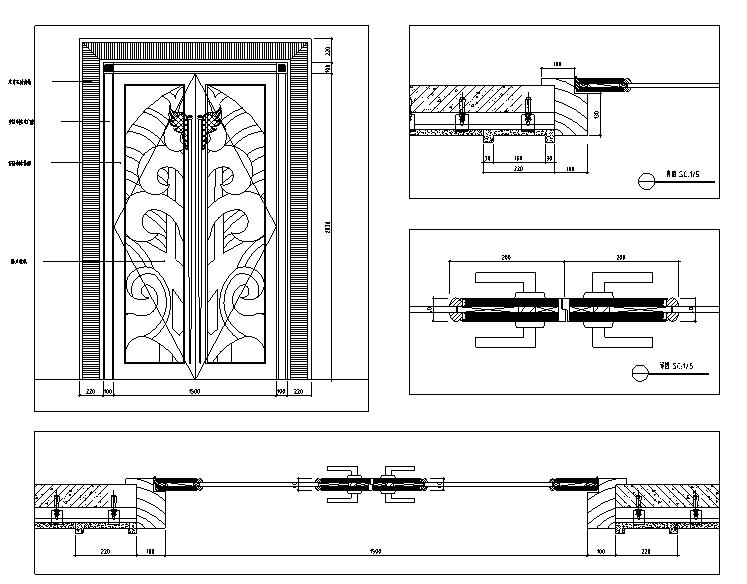 【重庆】现代奢华国际大酒店设计施工图(附效果图)_2