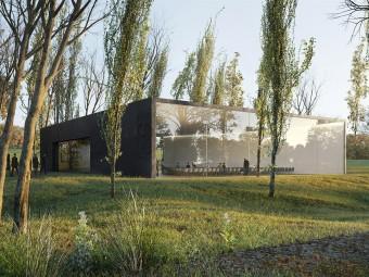 荷兰现代化的葬仪中心