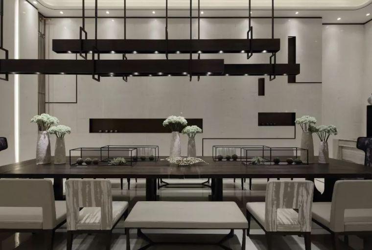 质朴材质也能构建空间气质,顶级别墅样板间设计_11