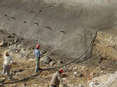 黄河小浪底水利枢纽应用喷射混凝土技术