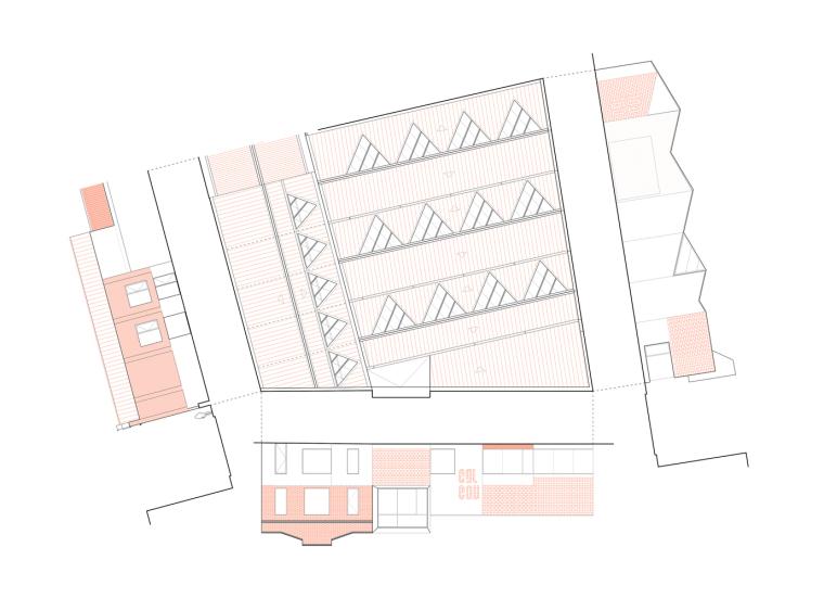 西班牙Gon-Gar旧工坊车间改造的综合体建筑-16