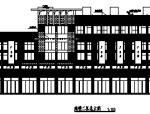 某商业步行街建筑施工图设计及透视效果图