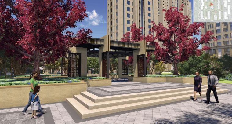 [陕西]西安居住区建筑设计规划方案设计文本