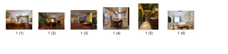 全套地中海田园风格样板房CAD施工图(含效果图)_9