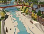 滨水公园景观规划方案设计(SU模型)