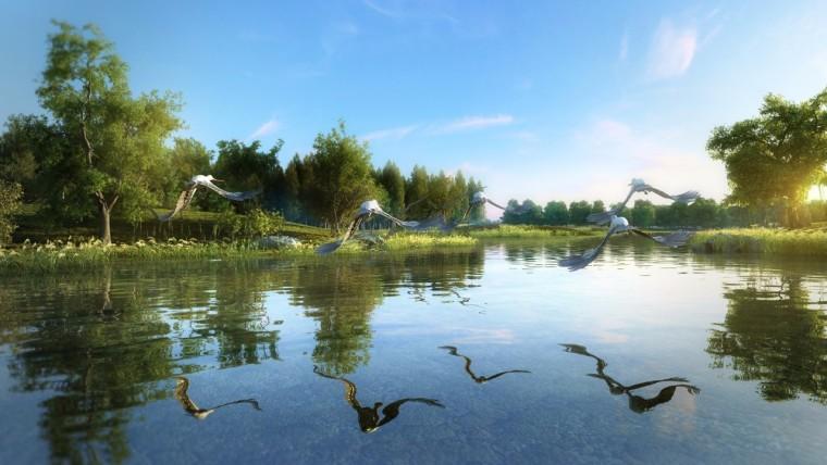 人工湿地(浮床)工程应用的填料配方及植被选取
