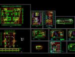 人防建筑设计方案施工图(CAD)