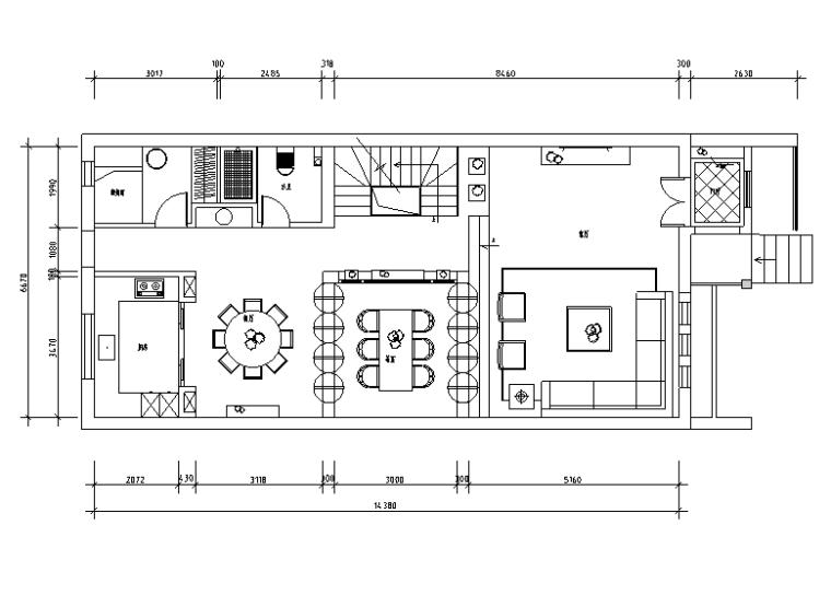 中式风格住宅设计施工图(附效果图)