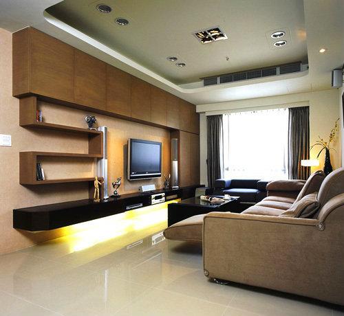 76平现代简约二房二厅一和室装修效果图