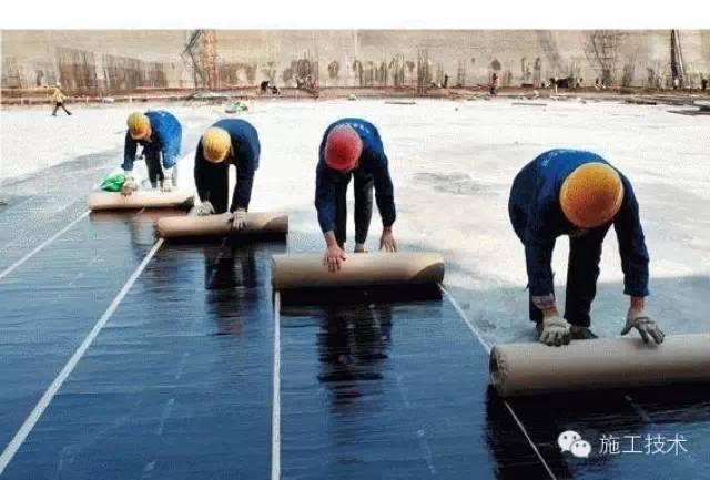 国外建筑防水材料和防水施工技术