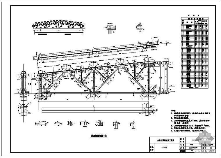 [学士]某钢屋架课程设计(含计算书、图纸)