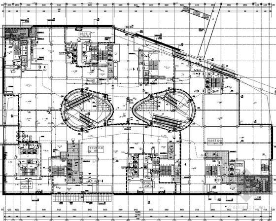 [北京]12万平米著名商业综合体建筑给排水图纸(雨水虹吸排水 中水系统 )