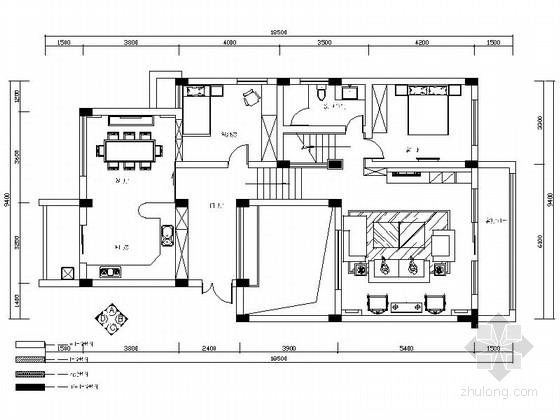 某绿城现代高档四层别墅室内装修图(含实景)