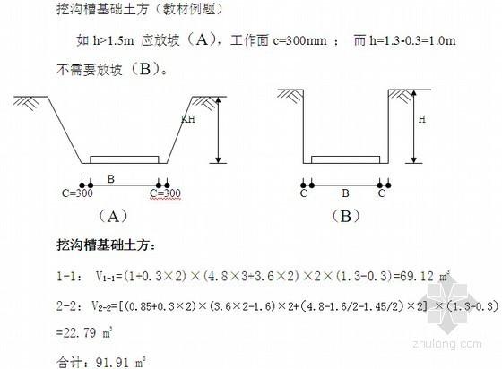 [安徽]造价员试题汇总(含答案及复习资料 3年)