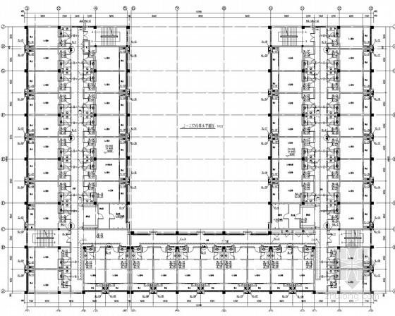 [广东]厂房食堂办公宿舍全套建筑给排水消防施工图