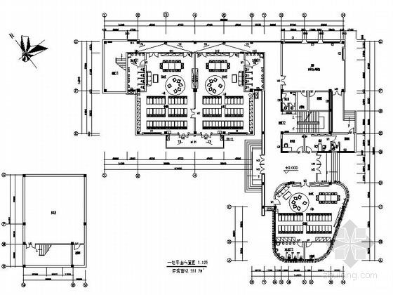 [深圳]时尚住宅小区四层幼儿园装修设计施工图(含电气图)