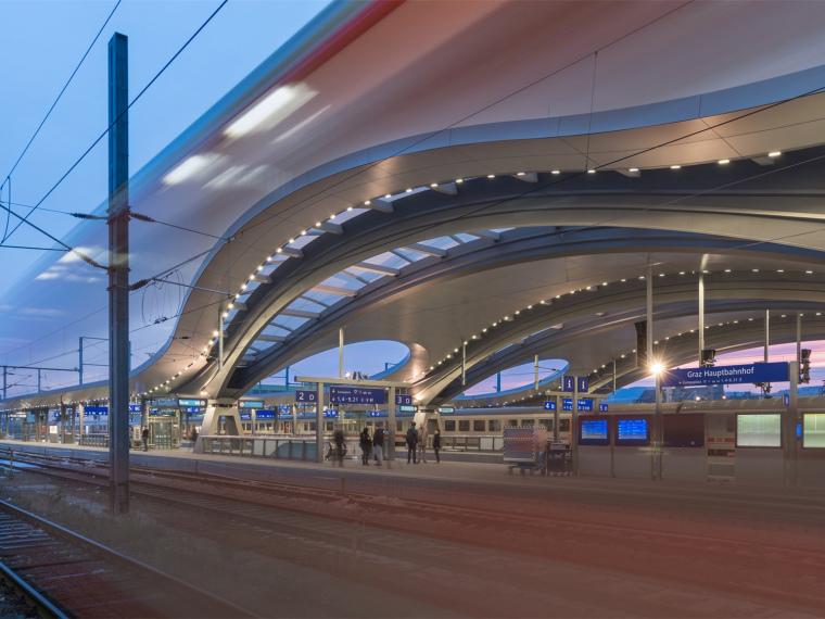 奥地利格拉茨火车站重建_1