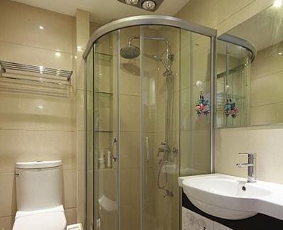 干湿分离卫生间装修效果图
